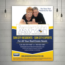Abramson Real Estate Flyer