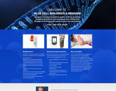 Blue Cell Biologics & Bracing